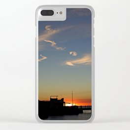 Colonia sunset Clear iPhone Case