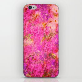 Pink and Red Vintages Roses So Shabby Chic iPhone Skin