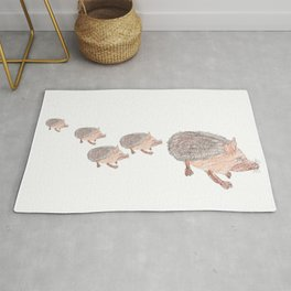 Desert Hedgehog Rug