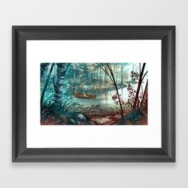 Strait - Salmi Framed Art Print