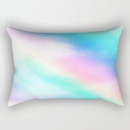 Rainbow Pastel Rectangular Pillow