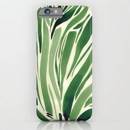 Hiatus Green 2 iPhone Case