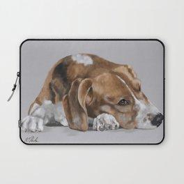 Beagle Resting Laptop Sleeve