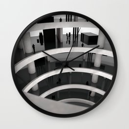 At The Mall Wall Clock