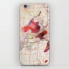 Madison map iPhone Skin