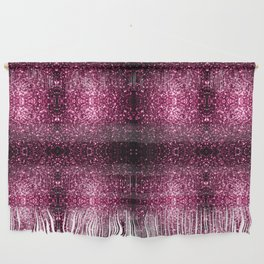 Beautiful Dark Pink glitter sparkles Wall Hanging