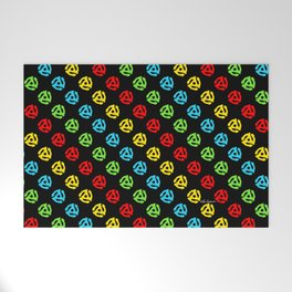 45 Spindle All Over Print Welcome Mat