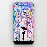 fantasy iPhone & iPod Skins featuring Deluge by Marc Allante