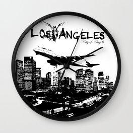 Los Angeles: City of Angels Wall Clock