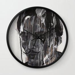 Portrait of Dalí Wall Clock