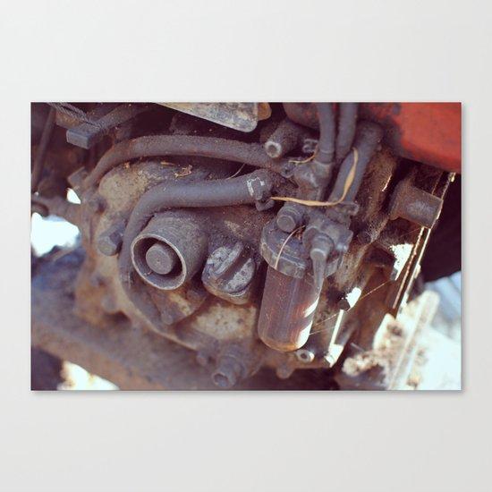 Engine Canvas Print