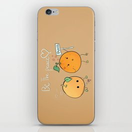 if you want peace be it iPhone Skin