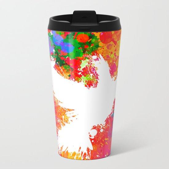 Hummingsplat - Colorless Metal Travel Mug
