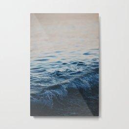ocean waves print Metal Print