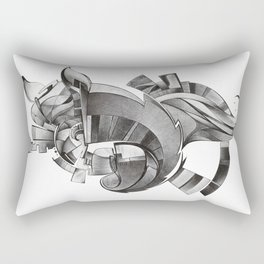 La sagra dell'inconscio Rectangular Pillow