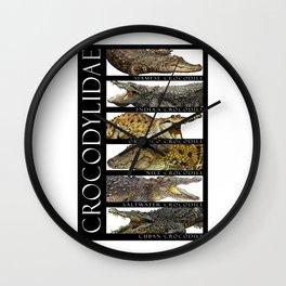 Crocodiles of the World Wall Clock