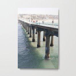 Redondo Pier, CA Metal Print