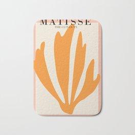 Henri matisse the cut outs contemporary, modern minimal art Bath Mat
