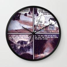 Laugh Menu 80 Wall Clock