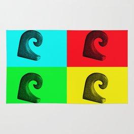 Pop Art Wave Rug