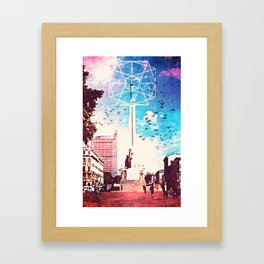 Riga in my heart Framed Art Print