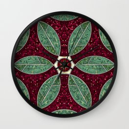 Turkish Bath Mosaic Wall Clock