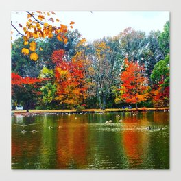 Autumn of Our Contentment Canvas Print