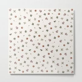 Delicate Spring Botany Metal Print