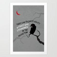 Beauty by Poe Art Print