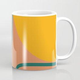 Geo abstract shapes 4 Coffee Mug