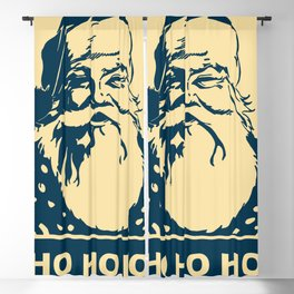 Ho Ho Ho Santaclaus modern pop art Blackout Curtain