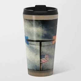 Immigration and The Wind Of Times. Travel Mug