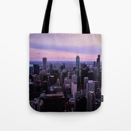 Chicago Sunsets Tote Bag
