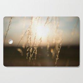 golden light Cutting Board