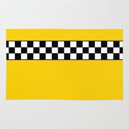 NY Taxi Cab Cosplay Rug