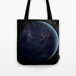 Asia at Night Tote Bag