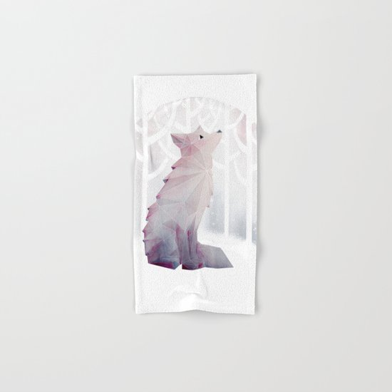 Fox in the Snow Hand & Bath Towel