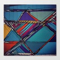 urban Canvas Prints featuring Urban by Julia Tomova