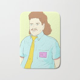 Fred the All-You-Can-Eat Buffet Manager Bath Mat