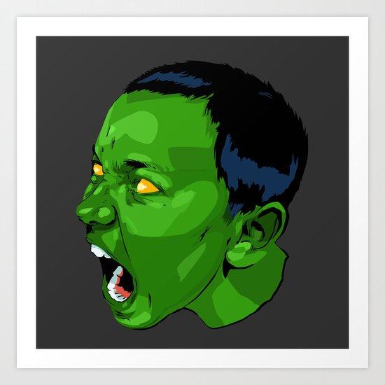 mini Hulk Art Print