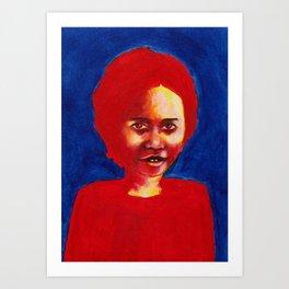 Nos étrangers 2 Art Print