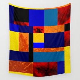 Mondrian #7 Wall Tapestry