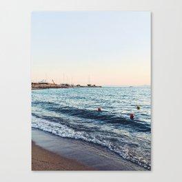 athens sunset Canvas Print