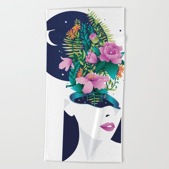 Wild things Beach Towel