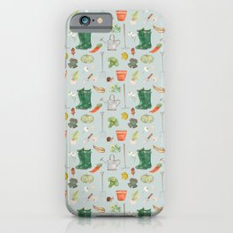 Autumn Gardener iPhone Case