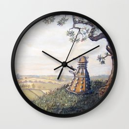 A rather Dalek afternoon Wall Clock