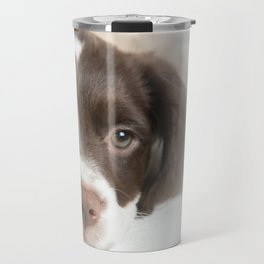 Brittany Puppy Travel Mug