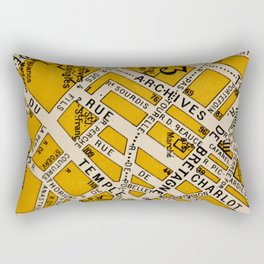 All About Paris II Rectangular Pillow