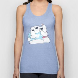 a moment of happiness Unisex Tank Top