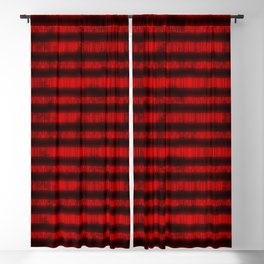 Red Dna Data Code Blackout Curtain